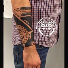 Tahiti / Marquesan tattoo! #marquesantattoosdesigns