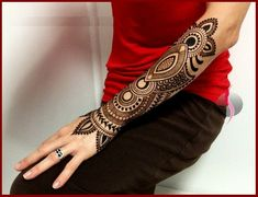 Best Indian Arabic Henna Mehndi Design For Hand