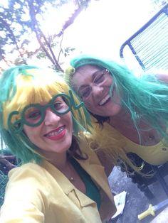 Marcela e sua mãe Maria torcem juntas nos jogos do Brasil