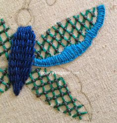 Art & Needlework: GBCW, more on Butterfly