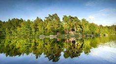 Långasjönäs+semesterby+-+med+camping,+stugbyar,+badplats+och+vandringsstigar.+Campingplatsen+ligger+vid+en+insjö,+där+man+får+fiska+gratis+som+campinggäst.+På+campingen+finns+cirka+90+platser+och+i+vår+stugby+finns+sammanlagt+53+stugor.