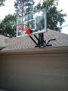 Amazing Roof Master Roof Mount Basketball System From DunRite Playgrounds  Http://www.dunriteplaygrounds