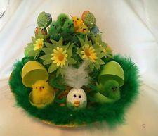 Easter Bonnet Ready Made Decorated Boys Unisex Hat School Parade Egg Hunt Party Bonnet Hat, Boyfriend Crafts, Arts And Crafts, Diy Crafts, Mermaid Blanket, Crochet Patterns For Beginners, Valentine's Day Diy, Egg Hunt, Valentines Diy