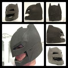 how to make a helmet out of foam