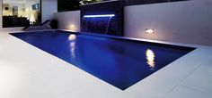 This stylish rectangular pool offers not only versatility in terms of placement on your block but it also provides a simplistic structure to suit every home and still have the practicality that you want from a swimming pool.