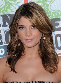 Highlights, Medium, Brunette Hairstyles - Pics and Info