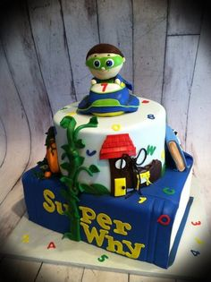 Super Why cake idea