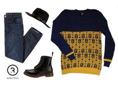 Unos Buenos Jeans bastan para combinar tus sacos ERRETRES. #DiseñoIndependiente #ModaMasculina #CompraColombiano #Sacos