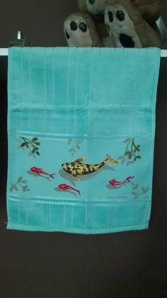 toalhas de lavabo, aceito encomendas