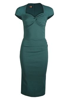 the very pretty ....Foxy Lady 50s Wiggle Dress - green