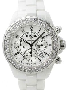 Chanel Ceramic Watch - if I was getting a ridiculously overpriced ceramic watch... it would definitely be this one!