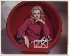 Francoise Dorleac Ball Chair Eero Aarnio POP ART Design Ekta Transparency 1960s | eBay