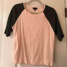 TOPSHOP blouse barely worn, silk materials with zippers up the side Topshop Tops Blouses