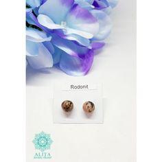 Rodonit nemesacélos bedugós fülbevaló Stud Earrings, Jewelry, Jewlery, Jewerly, Stud Earring, Schmuck, Jewels, Jewelery, Earring Studs