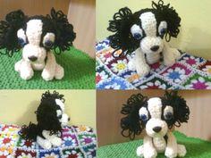 Delta-Zelta......all about Innovation: Cavalier King Charles Spaniel Puppy (Amigurumi No.15)