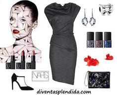 outfit elegante make up NARS collezione inverno 2014 2015