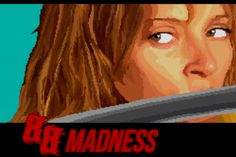 """Want to fight the crazy 88 like the Bride did in Tarantino's """"Kill Bill""""? Now you can!Check out this 8-bit video game created by Juan David Gómez!"""