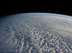 Stratocumulus Clouds Over Pacific (Jan. photos by Expedition 34 crew members aboard the International Space Station, above the northwestern Pacific Ocean about 460 miles east of northern Honshu, Japan. Mother Earth, Mother Nature, Nasa Photos, Nasa Pictures, International Space Station, Cosmos, Earth From Space, To Infinity And Beyond, Global Warming