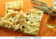different types of italian focaccia by rossella, via Shutterstock