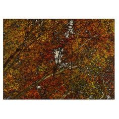 Autumn Trees Cutting Board