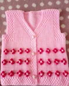 Crochet Baby Clothes Boy, Baby Boy Knitting, Crochet Toddler, Crochet For Boys, Knitting For Kids, Free Baby Patterns, Knitting Patterns Boys, Baby Clothes Patterns, Crochet Vest Pattern