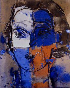 Alice III 2005 óleo sobre arpillera 230 x 190 cm