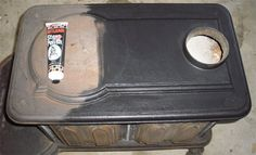 How to Restore a Wood Stove - Continued