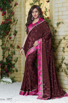 Royal Ethnic Party Wear Fashion Saree Designer Indian Banarasi Silk Women Sari Soft And Antislippery Clothes, Shoes & Accessories