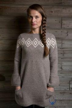 Icelandic Design   Wool Sweater - Icelandic wool is my deep-freeze go-to