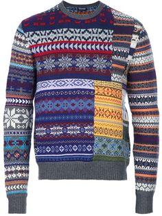Drumohr Jacquard Sweater