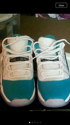 new concept 1e28f 8a17a Air Jordan 11 Retro Low Aqua Safari Size Condition is New with box. Shoes  have never been worn.