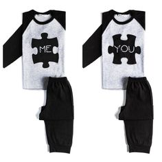 Twin Me & You Pyjamas by myTwinsCollection on Etsy