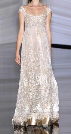Un vestido precioso..
