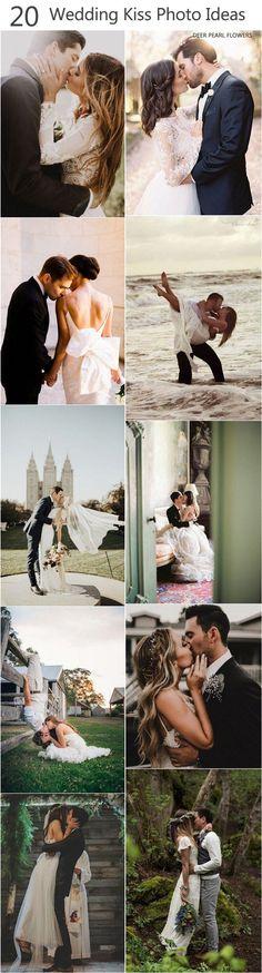 Wedding Kiss Photo Ideas  / http://www.deerpearlflowers.com/epic-wedding-kiss-photos-of-all-time/