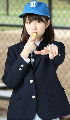 Cute School Uniforms, School Uniform Girls, Girls Uniforms, High School Girls, Cute Korean Girl, Cute Asian Girls, Cute Girls, Japanese Beauty, Japanese Girl