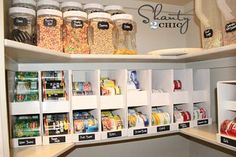 DIY Canned Food Organizers