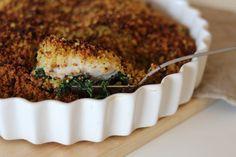 As Minhas Receitas: Lombinhos de Peixe com Espinafres e Broa