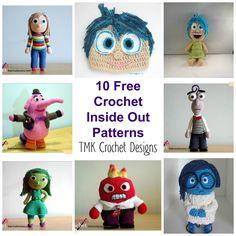 TMK crochet: Free Crochet Pattern Round-Up: Inside Out