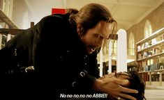 He called her Abbie! Mayyyybe they'll turn out like Captain Swan when EMMA started calling Hook, Killian!