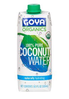 Os presentamos nueva Agua de Coco Orgánica (Ecológica) 100% Natural, Hidratante Natural rica en antioxidantes que previene el envejecimiento prematuro de la piel, contiene potasio, calcio, magnesio y electrolitos. Ideal para una dieta sana y equilibrada.