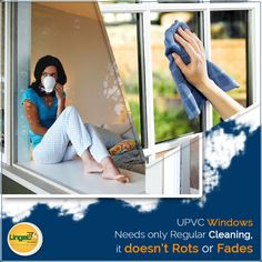 Lingel Windows Should Be Cleaned Regularly To Maintain Its Quality or Keep the Shining & Bright Look for Very Long Time