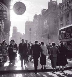 Gran Vía. Madrid. Años 60.