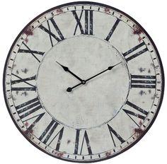 Sterling 118-040 Roman Numeral Printed Wall Clock Sterling http://www.amazon.com/dp/B00BQKBTTO/ref=cm_sw_r_pi_dp_HqGAub09ZD6PQ