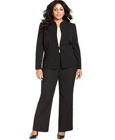 Tahari by ASL Plus Size Suit Separates Collection - Plus Size Suits & Separates - Plus Sizes - Macy's