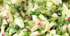 Leichter Frühlingssalat, ein Rezept der Kategorie Vorspeisen/Salate. Mehr Thermomix ® Rezepte auf www.rezeptwelt.de