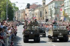 Liberation Festival in streets of Pilsen #plzen2015