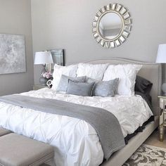 Awesome 45 Incredible Master Bedrooms Design Ideas. More at http://homenimalist.com/2018/04/24/45-incredible-master-bedrooms-design-ideas/