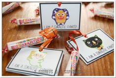 Adorable easy to Make Halloween Favors (Math & a Treat... makes both parents & kids happy)