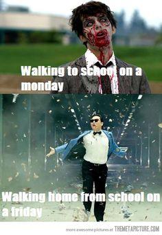 School or work