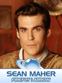Sean Maher of Firefly and Arrow is coming to Planet Comicon Kansas City 2016